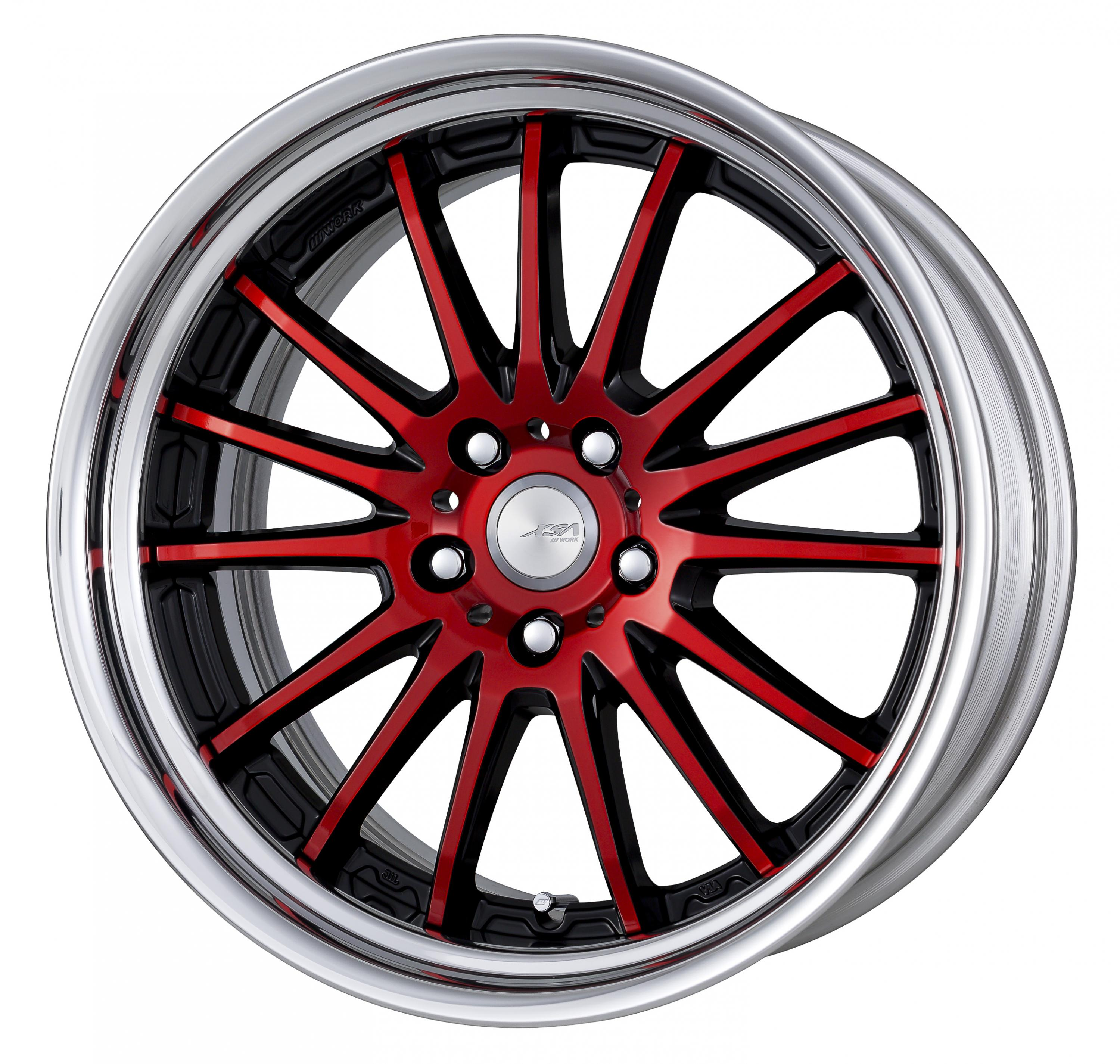 (BCR) Black Clear Red