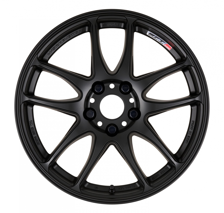 emotion cr kiwami work wheels usa 2005 Audi S4 mbl matte black