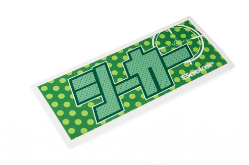 Seeker Katakana Sticker Green/Green (W140031)
