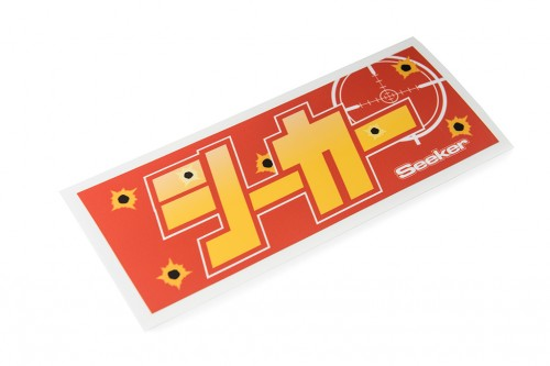Seeker Katakana Sticker Orange/Yellow (W140032)