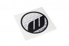 WORK Circle Sticker Black (W140006)