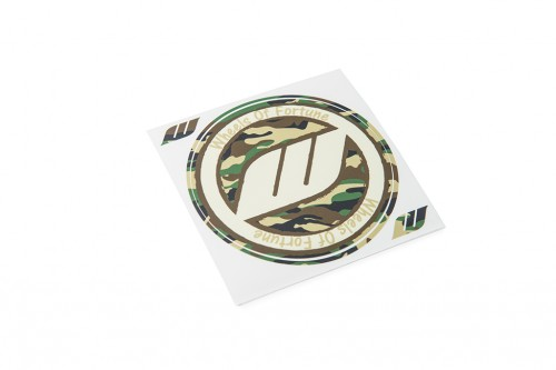 WORK Circle Camo Sticker Standard (W140011)