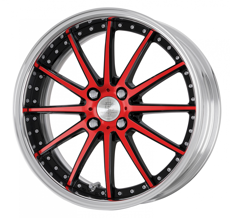 (BCR) Black Cut Red