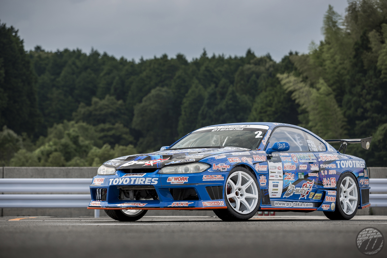 Seimi Tanaka-san Nissan Silvia (S15) on WORK Emotion T7R in White (WHT) Finish – Photo by WORK Wheels Japan